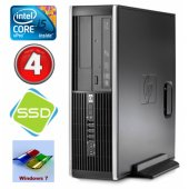HP 8100 Elite SFF i5-650 4GB 120SSD DVD W7P ReNew
