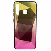 "Mocco ""Stone Ombre Back Case Galaxy A30S"" Yellow-Pink"